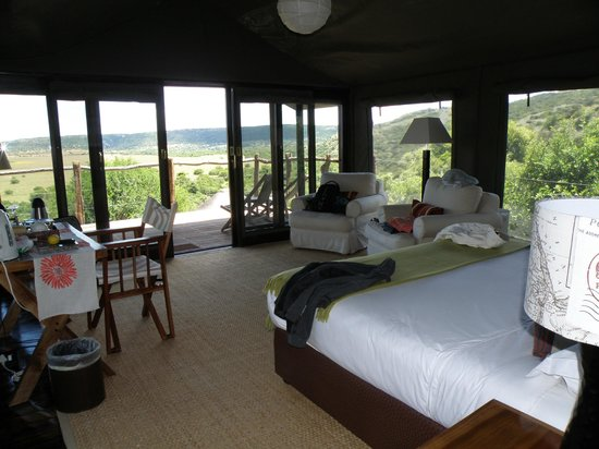 HillsNek Safaris, Amakhala Game Reserve: View from our tent