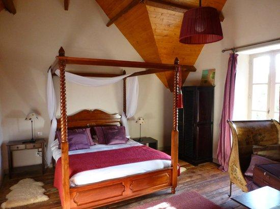 Le Petit Manoir de Keriolet : notre chambre ( celle au dessus de l'entrée)