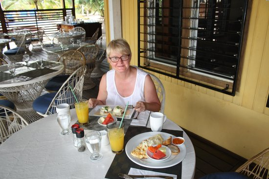 Maya Beach Hotel Bistro: I could get used to this......
