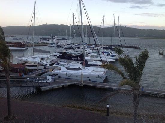 Protea Hotel Knysna Quays: View from the room