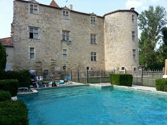 Chateau de Fources : vacances d'été juillet 2013
