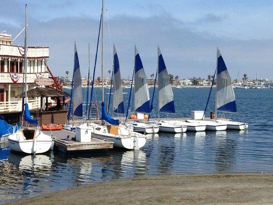 Bahia Resort Hotel: Capri sailboats