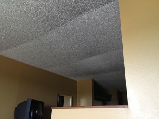 Comfort Inn & Suites Crystal Inn Sportsplex: ceiling falling down.