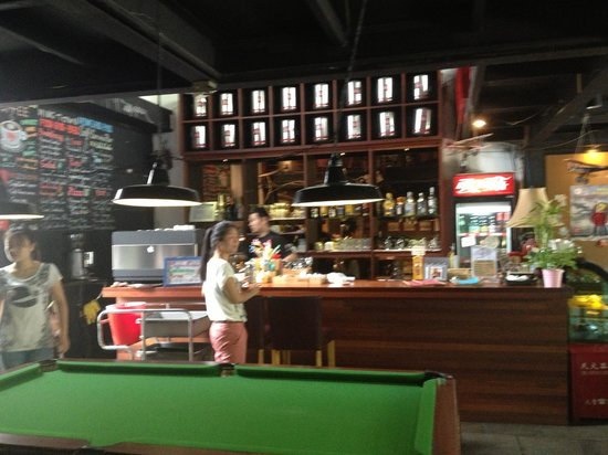 Mingtown Etour Youth Hostel : Cafe / Bar  / Hangout Area