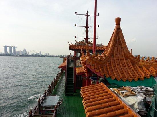Watertours: Looking towards Singapore Island