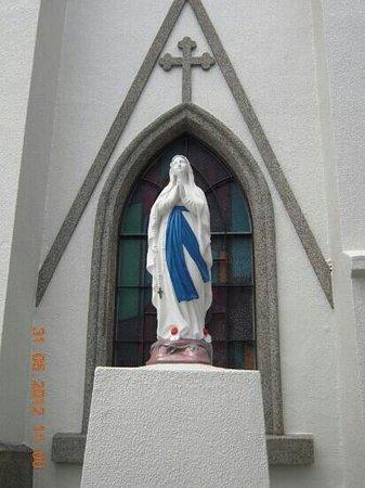 Iojima Island: 馬込教会のマリア像