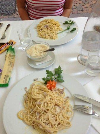 Ristorante Pizzeria Leon d'Oro: Spaghetti Carbonara
