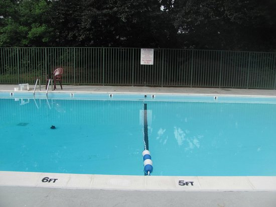 Motel 6 Frederick - Fort Detrick: pool across from our room