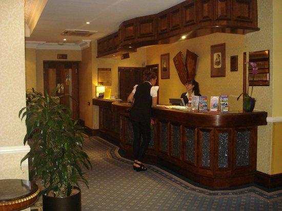 Henry VIII Hotel: réception