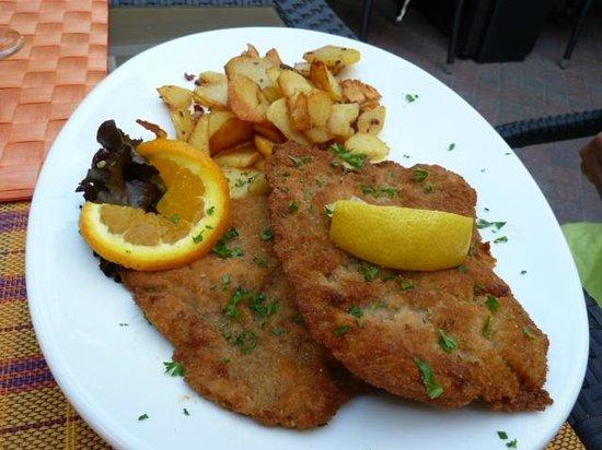 Schnitzel in der Marktschänke Bad Dürkheim - Picture of Marktschanke ...