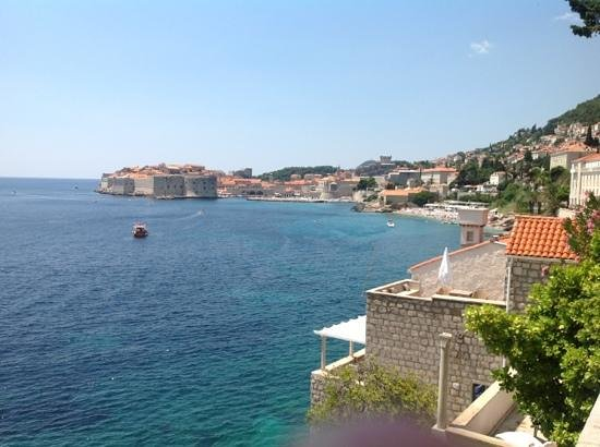 The View From The Pool Picture Of Grand Villa Argentina Dubrovnik Tripadvisor