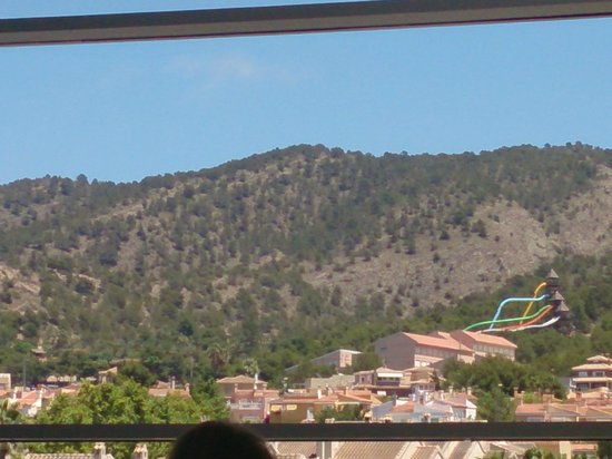Hotel Levante Club & Spa: view from restaurant