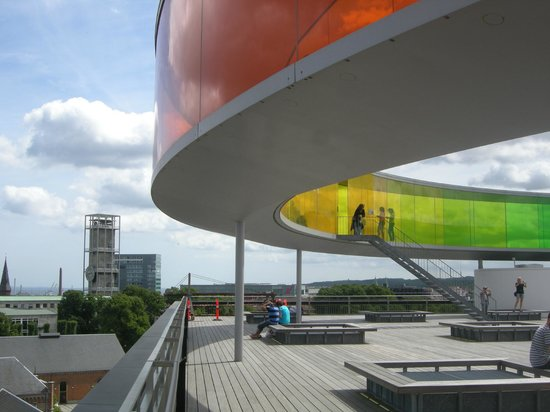 Aarhus, Dinamarca: View on the top