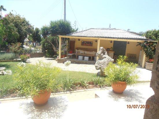 Mylos Apartments: Kήπος....
