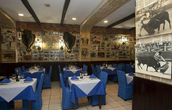 Restaurante Casa Riquelme: Nuestro salón
