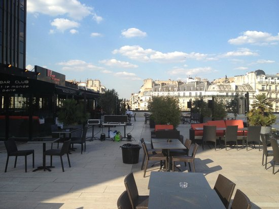 Restaurant terrasse a paris picture of restaurant tout le monde en parle paris tripadvisor - Restaurant en terrasse paris ...