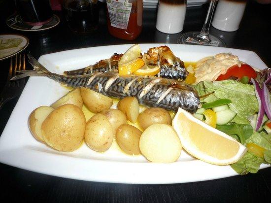 Winstons Bar & Restaurant: Mackerel in garlic and lemon butter