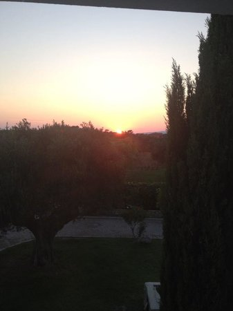 Avithos Resort: Sunset from the terrace