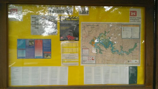 Taylorsville Lake State Park: Information about the lake