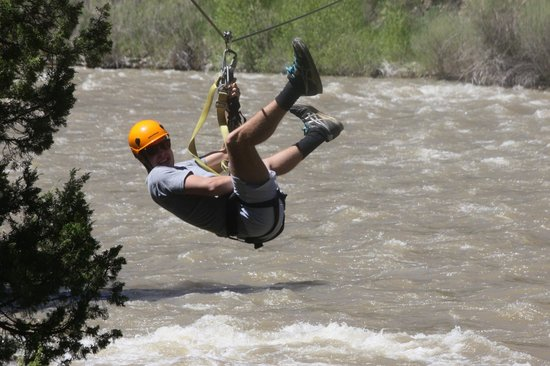 Montana Whitewater Raft Company : Zip over the Gallatin was awesome