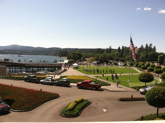The Coeur d'Alene Resort: 4th of July!