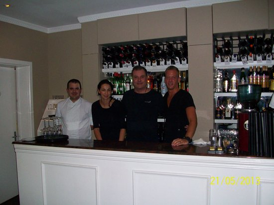 Venus Restaurant : The Team ( after a very long day)