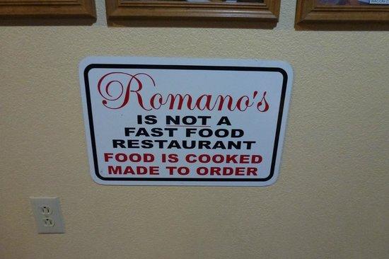 Romano S Restaurant Norton Va