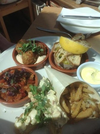 The White Horse Restaurant: Norfolk Tapas