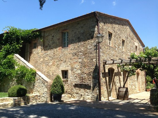 The main house picture of agriturismo casa fabbrini san - Agriturismo san casciano dei bagni ...