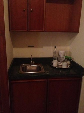 Lexington Suites: kitchenette