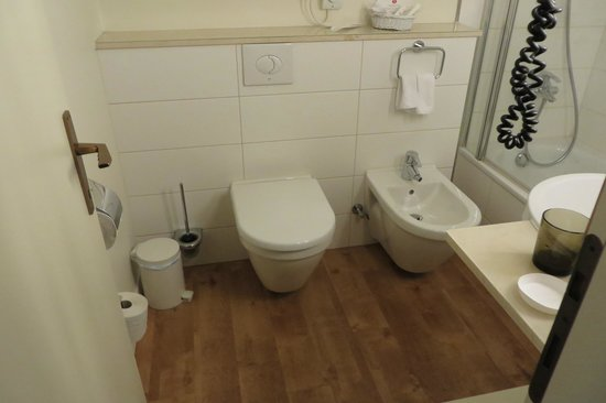 Ramada Hotel Arcadia : Bathroom