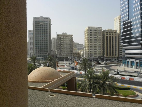 Sheraton Abu Dhabi Hotel & Resort: view from the room