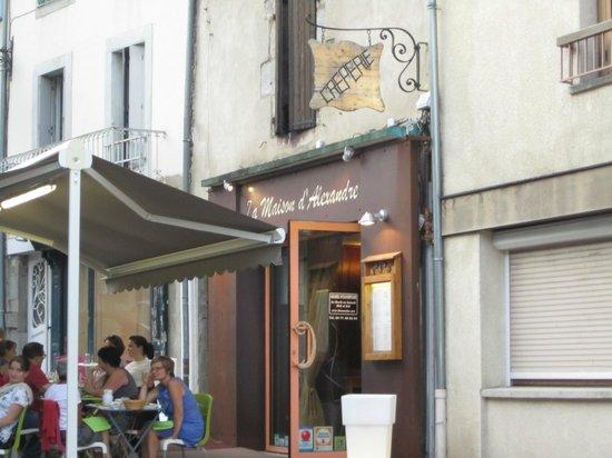 Restaurant la maison d 39 alexandre dans aurillac avec for Andre maurois la maison