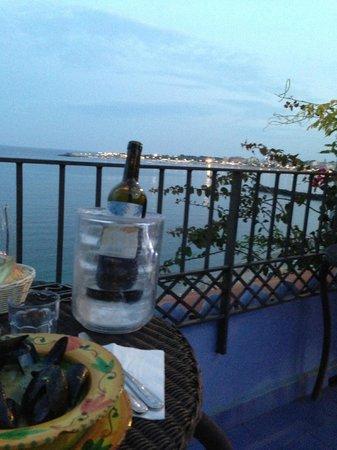 Hotel Palladio: terrazzo sul mare