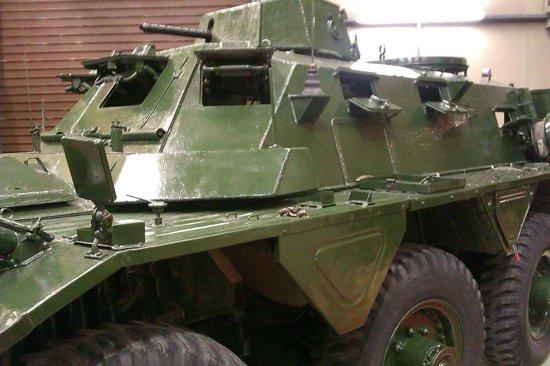 Grampian Transport Museum: Sarcen (?) tank