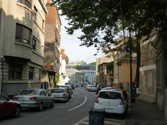 Hotel Michelangelo: street view, hotel on right side