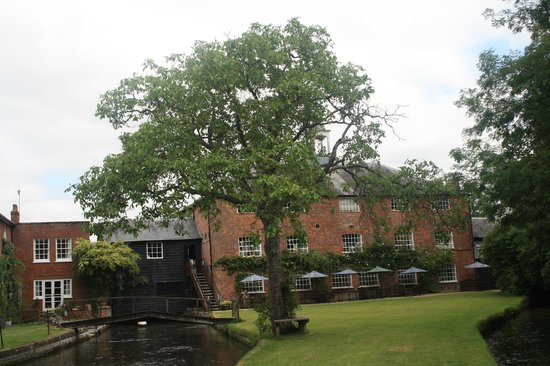 Whitchurch Silk Mill: Silk Mill from rear