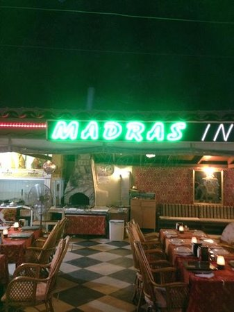 Madras Indian Restaurant: Madras Restaurant, Olu Deniz (Owned by Joseph) One of the best Indian meals I've ever had, home