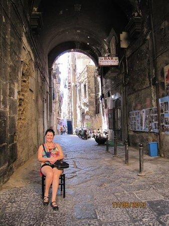 Decumani di Napoli: callejones