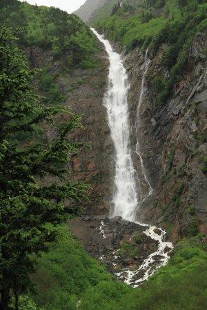 Twin Falls/Glacier Gulch Trails: Twin Falls