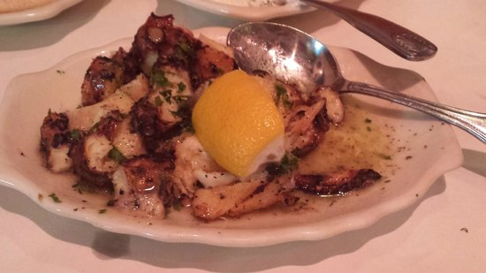 Greek Islands Taverna: Grilled octopus