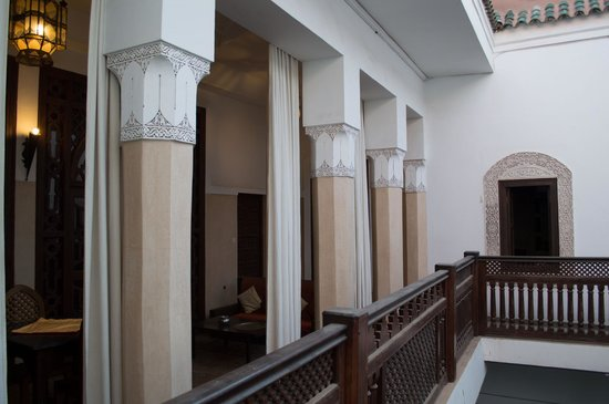 Equity Point Marrakech Hostel : Balcony