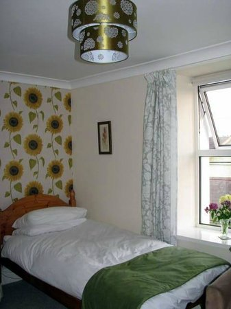 Carno House: Town view room.  Spacious and comfortable!