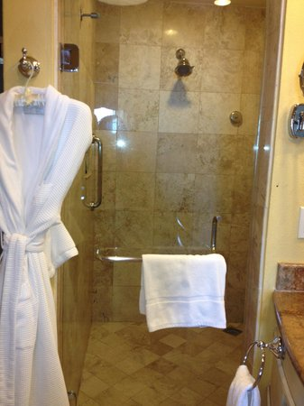 Hilton Los Cabos Beach & Golf Resort: Shower was wonderful and big enough for two!