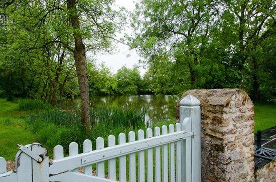 Manoir du Bois de Grez: Lake