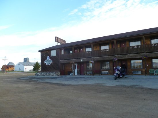 The Prairie Inn : arrived early