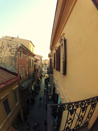 Bed & Breakfast Via del Centro : From the balcony