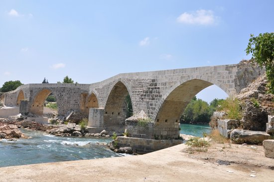 Aspendos Bridge: Just a bridge