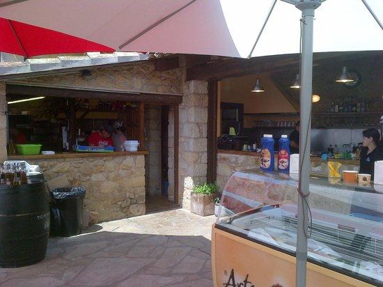 La Barra Y Cocina Fotografía De Terraza Bar Ca La Pruna