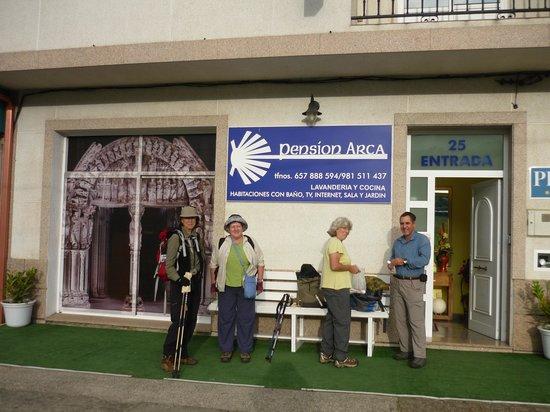 Pension Arca: Our Camino stop at Pedrouzo